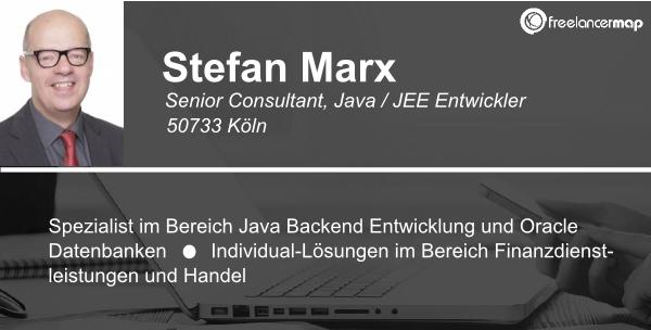Freelancer Köln freelancer im stefan marx