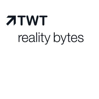 TWT reality bytes Logo