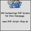 . 340 hochwertige deutsche PHP Scripte für Ihre Homepage. fertige Webprojekte .